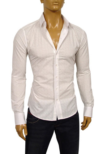 Mens Designer Clothes | DOLCE & GABBANA Mens Dress Shirt #332