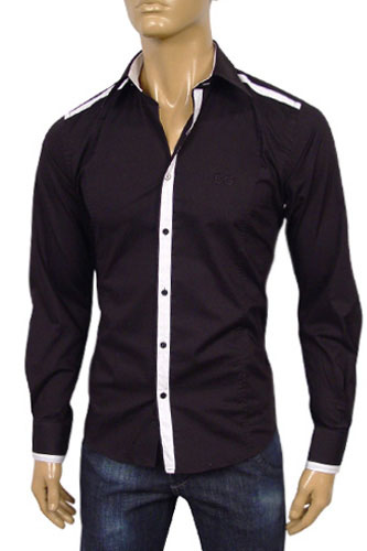 Mens Designer Clothes | DOLCE & GABBANA Mens Dress Shirt #347
