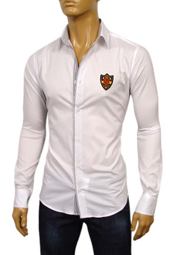 Mens Designer Clothes | DOLCE & GABBANA Mens Dress Shirt #350