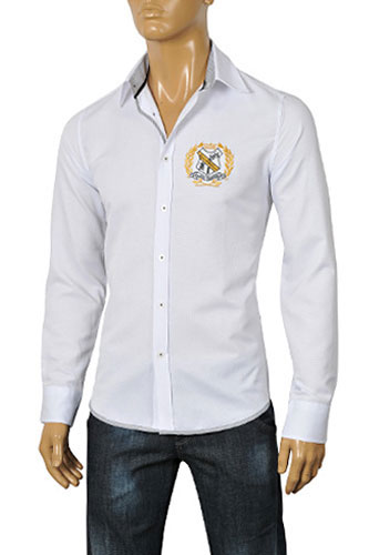 Mens Designer Clothes | DOLCE & GABBANA Men's Dress Shirt #382
