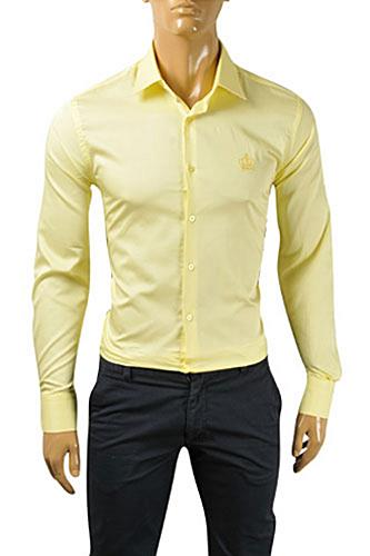 Mens Designer Clothes | DOLCE & GABBANA Men's Dress Shirt #0454