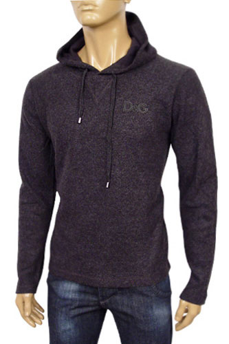 Mens Designer Clothes | DOLCE & GABBANA Mens Cotton Hoodie #180