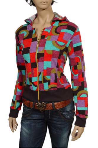 Womens Designer Clothes | DOLCE & GABBANA Ladies Multicolour Hoodie #270