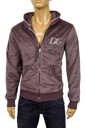 Mens Designer Clothes | DOLCE & GABBANA Mens Zip Up Hoodie/Jacket #299