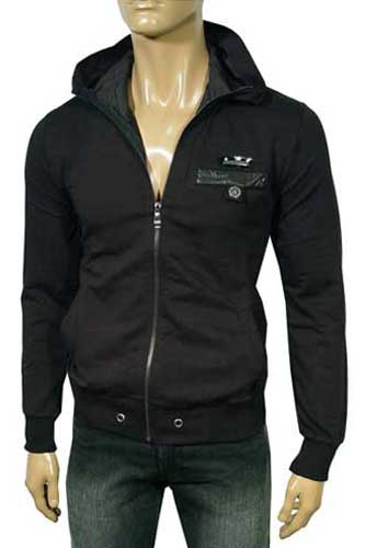 Mens Designer Clothes | DOLCE & GABBANA Cotton Zip Hoodie Jacket #265
