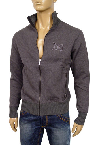 Mens Designer Clothes | DOLCE & GABBANA Mens Zip Up Jacket #304