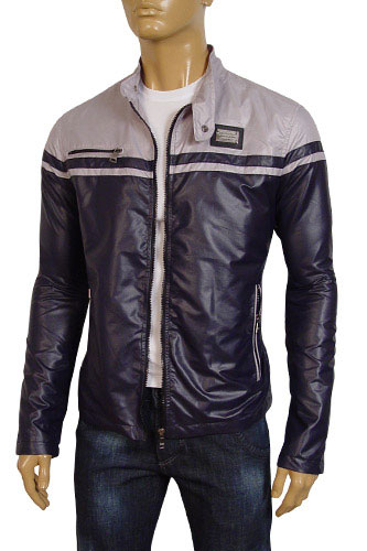 Mens Designer Clothes | DOLCE & GABBANA Men's Zip Up Spring Jacket #327