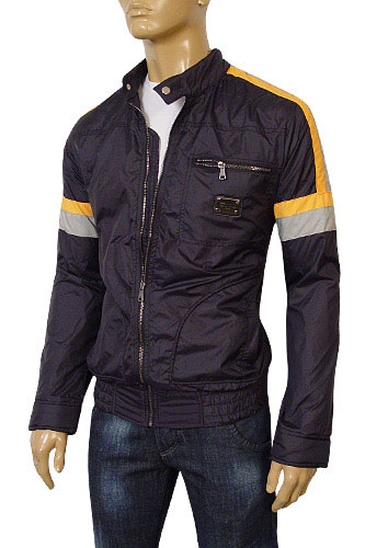 Mens Designer Clothes | DOLCE & GABBANA Mens Zip Up Spring Jacket #329