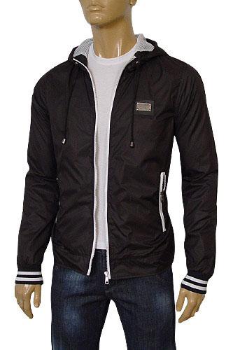 Designer Clothes | DOLCE & GABBANA Men's Zip Up Spring Jacket #330