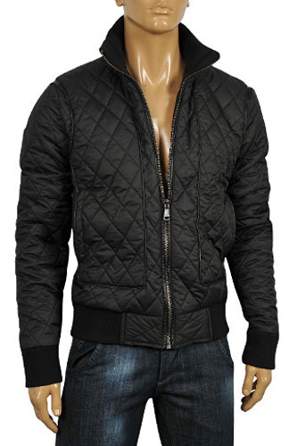 Mens Designer Clothes | DOLCE & GABBANA Men's Warm Jacket #344