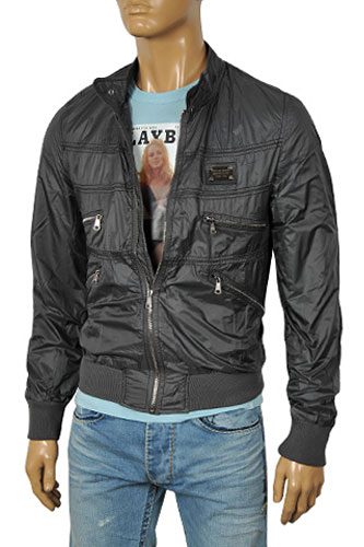 Mens Designer Clothes | DOLCE & GABBANA Men's Zip Up Jacket #365
