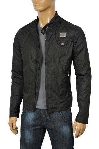 Mens Designer Clothes | DOLCE & GABBANA Men's Zip Up Jacket #366