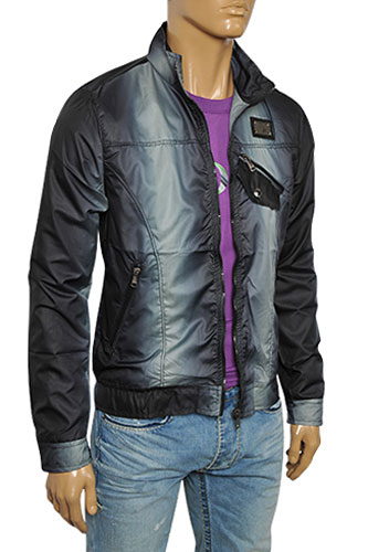 Mens Designer Clothes | DOLCE & GABBANA Men's Zip Up Jacket #367