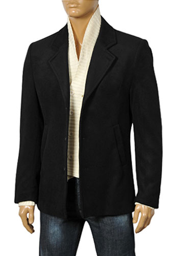 Mens Designer Clothes | DOLCE & GABBANA Men's Kashmir Coat/Jacket #373