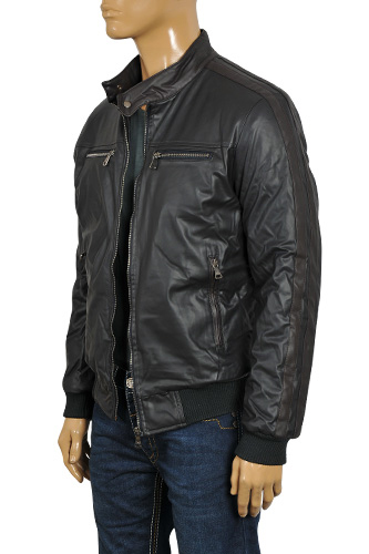 Mens Designer Clothes | DOLCE & GABBANA Men's Artificial Leather Jacket #385
