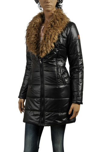 Womens Designer Clothes | DOLCE & GABBANA Ladies' Long Warm Jacket With Fur #392