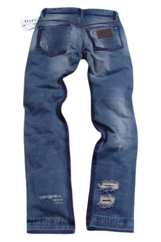 Mens Designer Clothes | DOLCE & GABBANA Mens Washed Jeans #153