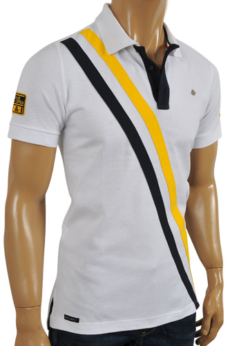 Mens Designer Clothes | DOLCE & GABBANA Men's Polo Shirt #433