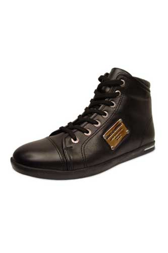 Designer Clothes Shoes | DOLCE & GABBANA Leather Sneaker Shoes #104