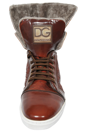 Designer Clothes Shoes | DOLCE & GABBANA Men's High Leather Shoes #235