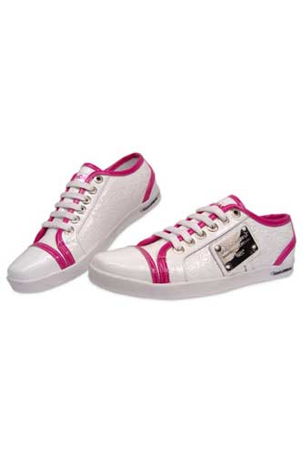 Designer Clothes Shoes | DOLCE & GABBANA Ladies Leather Sneaker Shoes #106