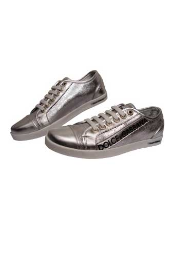 Designer Clothes Shoes | DOLCE & GABBANA Lady's Leather Sneaker Shoes #107