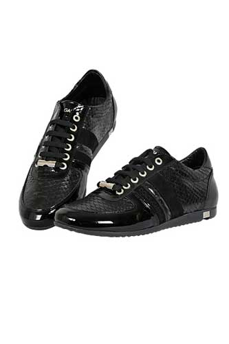 Designer Clothes Shoes | DOLCE & GABBANA Men's Leather Sneakers Shoes #214