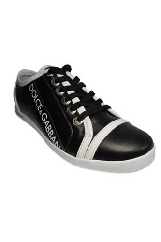 Designer Clothes Shoes | DOLCE & GABBANA Men Leather Sneaker Shoes #82
