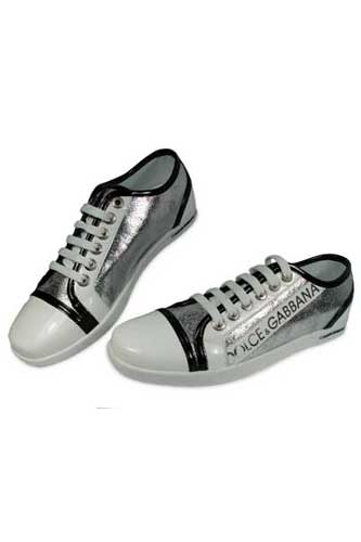 Designer Clothes Shoes | DOLCE & GABBANA Lady's Leather Sneaker Shoes #87