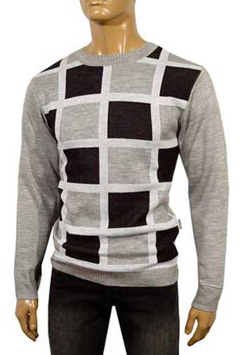 Mens Designer Clothes | DOLCE & GABBANA Men's Round Neck Knit Sweater #142