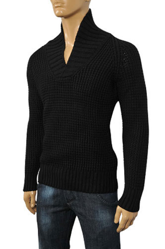 Mens Designer Clothes | DOLCE & GABBANA Men's Knitted Sweater #199