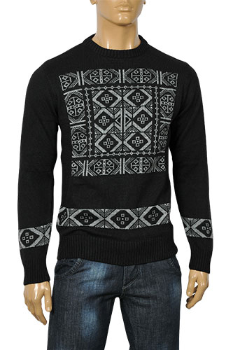 Mens Designer Clothes | DOLCE & GABBANA Men's Knitted Sweater #209