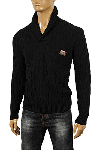Mens Designer Clothes | DOLCE & GABBANA Men's Knit Sweater #218