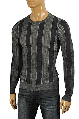 Mens Designer Clothes | DOLCE & GABBANA Men's Knit Fitted Sweater #235
