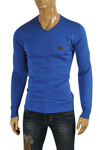 Mens Designer Clothes | DOLCE & GABBANA Men's Knit Fitted Sweater #240