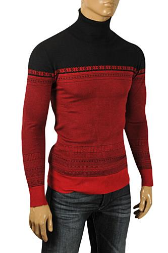 Mens Designer Clothes | DOLCE & GABBANA Men's Turtle Neck Knitted Sweater #243