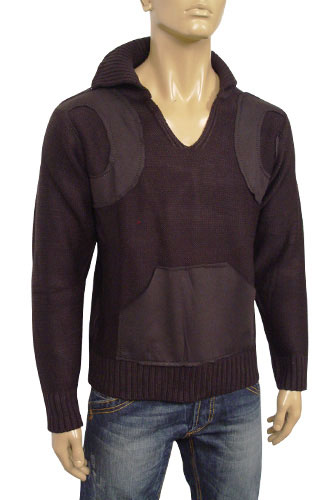 Mens Designer Clothes | DOLCE & GABBANA Mens Knit Warm Sweater #2