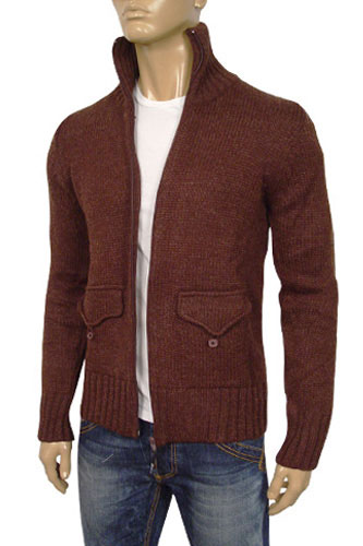 Mens Designer Clothes | DOLCE & GABBANA Mens Knit Warm Sweater #6
