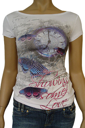 Womens Designer Clothes | DOLCE & GABBANA Ladies Short Sleeve Top #134