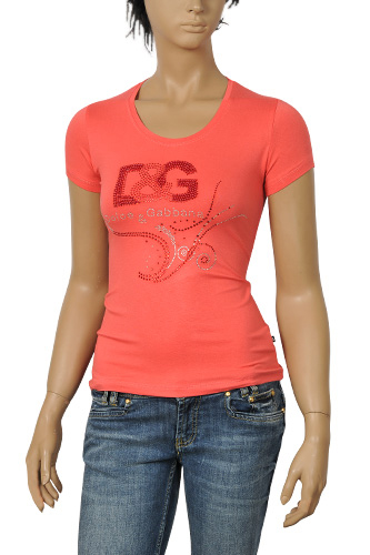 Womens Designer Clothes | DOLCE & GABBANA Ladies Short Sleeve Top #171