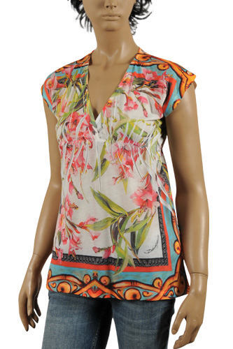 Womens Designer Clothes | DOLCE & GABBANA Ladies' Sleeveless Top #217