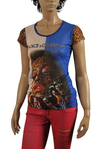 Womens Designer Clothes | DOLCE & GABBANA Ladies' Short Sleeve Top #221