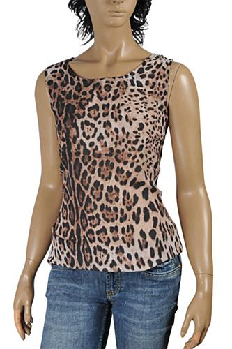 Womens Designer Clothes | DOLCE & GABBANA Ladies Sleeveless Top #463