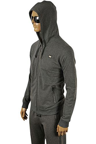 Mens Designer Clothes | DOLCE & GABBANA Men's Zip Up Hooded Tracksuit #410