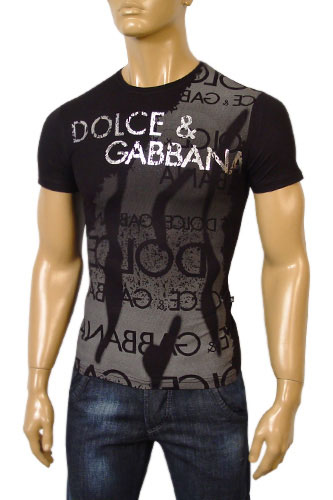 Mens Designer Clothes | DOLCE & GABBANA Mens Short Sleeve Tee #125