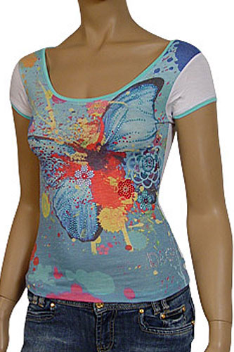 Womens Designer Clothes | DOLCE & GABBANA Ladies Short Sleeve Top #129