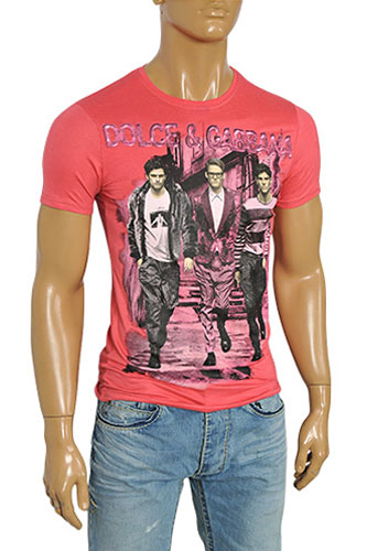 Mens Designer Clothes | DOLCE & GABBANA Men's Short Sleeve Tee #163