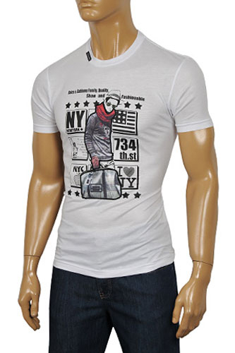 Mens Designer Clothes | DOLCE & GABBANA Men's Short Sleeve Tee #200