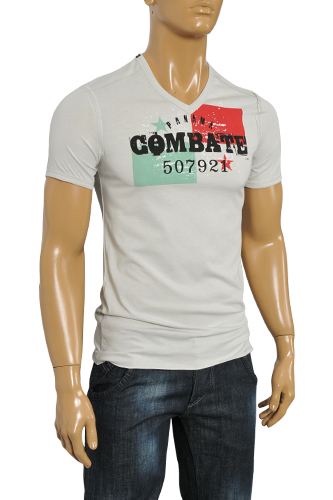 Mens Designer Clothes | DOLCE & GABBANA Men's Short Sleeve Tee #204