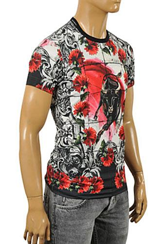 Mens Designer Clothes | DOLCE & GABBANA Men's Short Sleeve Tee #224